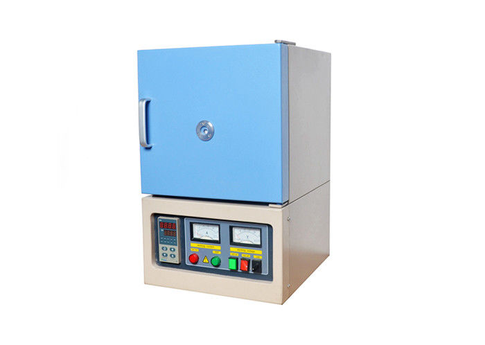 High Performance Lab Muffle Furnace 1700 ℃ Temperature With Cooling Fan
